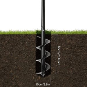 garden post auger