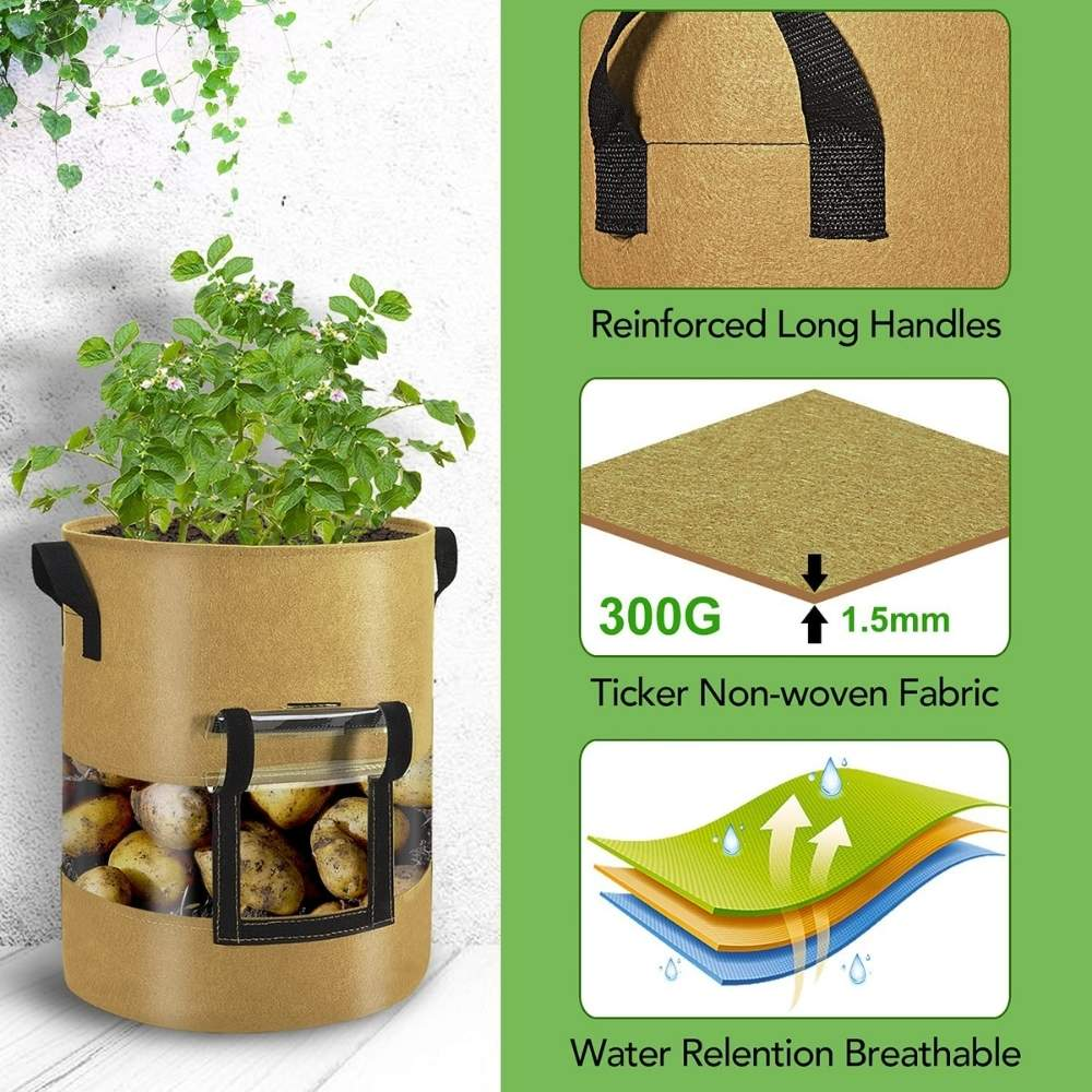 best potato growing bag